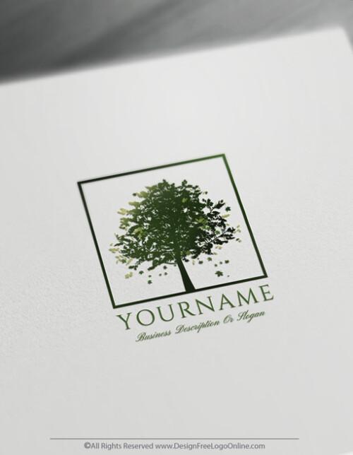 Free Green Maple Tree Logos