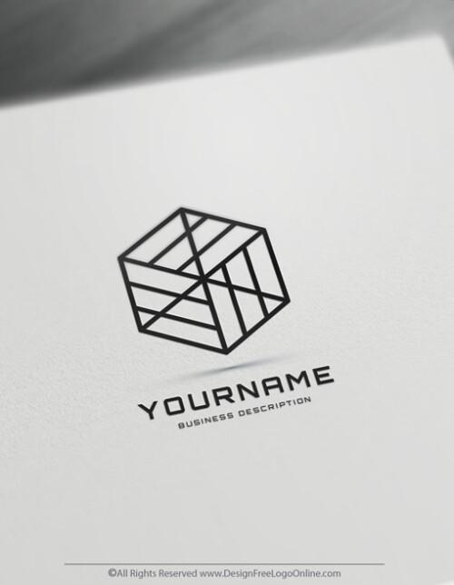 simple geometric logos