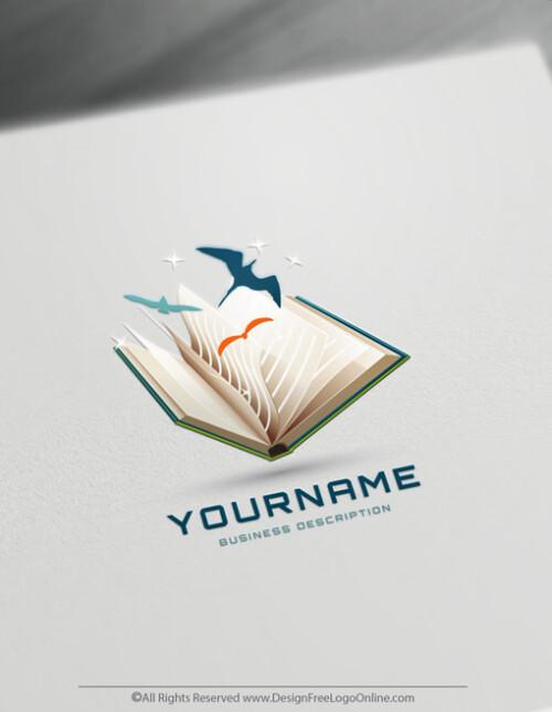 Green book logo maker online