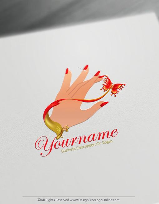 Free Sexy Nail Logo Maker online