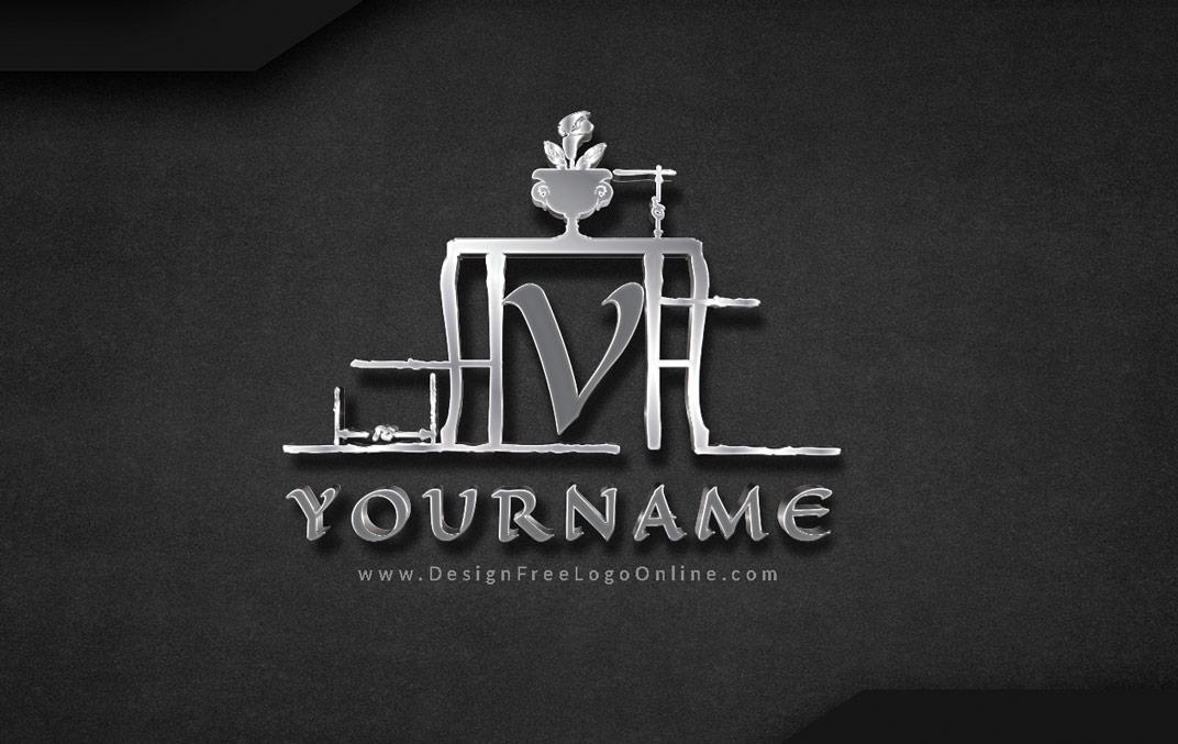 vintage furniture shop logo creator