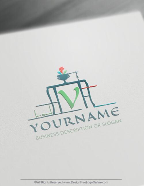 vintage interior design logos
