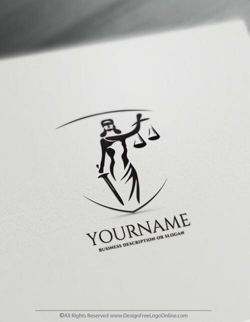 Attorney Logos Lady Justice