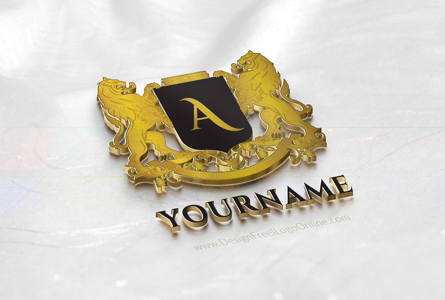 vintage Letter logo monogram maker