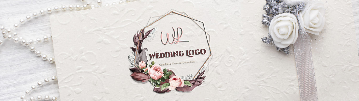 roses wedding logo