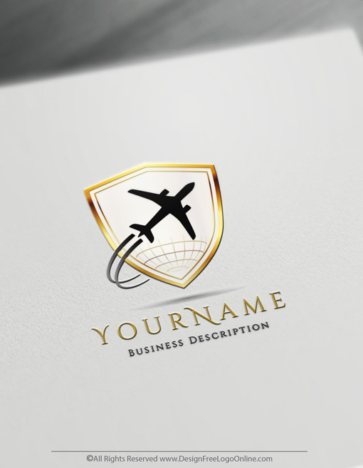 Build An Aviation Brand With Our Online Aircraft Logo Maker