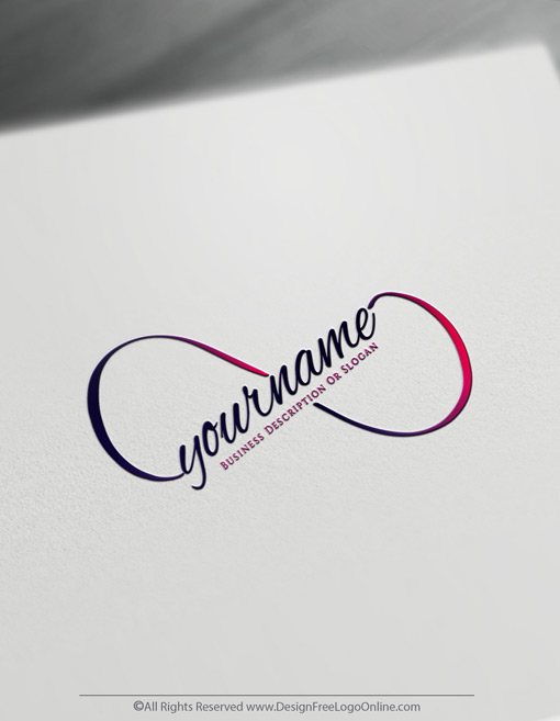 Build A Brand With Hand Drawn Infinity Symbol Sketch