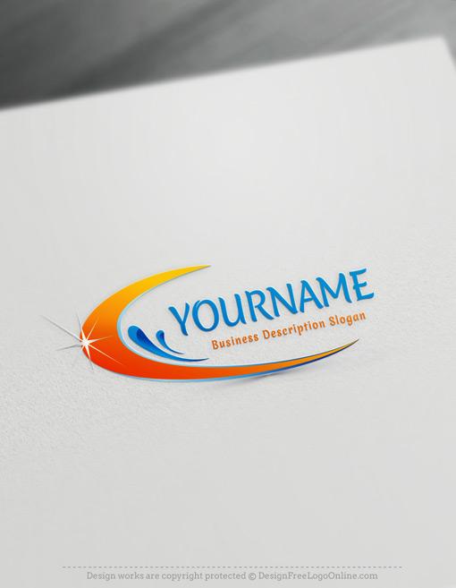 shining modern cleaning logos