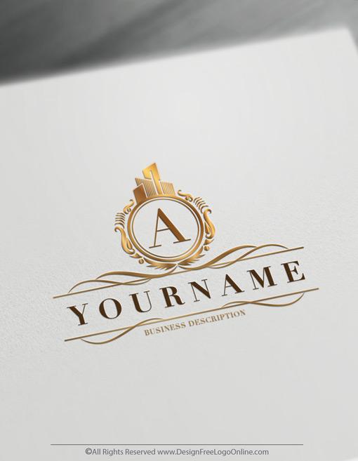 Create a Luxurious Construction Logo Maker