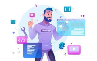 complete website redesign